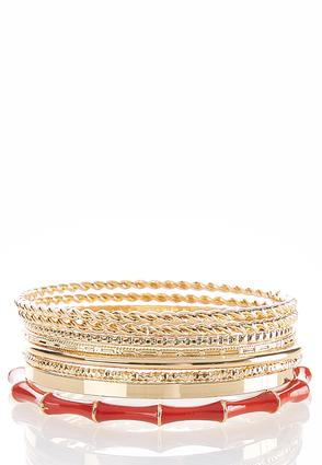 Enamel Bangle Bracelet Set | Tuggl