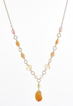 Semi-Precious Beaded Necklace at Cato in Brooklyn, NY | Tuggl