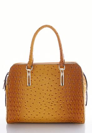Faux Ostrich Satchel at Cato in Brooklyn, NY | Tuggl
