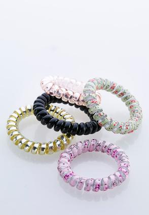 Spiral Cord Hair Bands | Tuggl