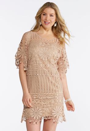 Floral Crochet Dress | Tuggl