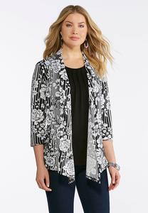 Cardigan Layered Tank
