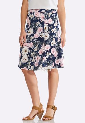 Summer Garden Puff Print Skirt | Tuggl