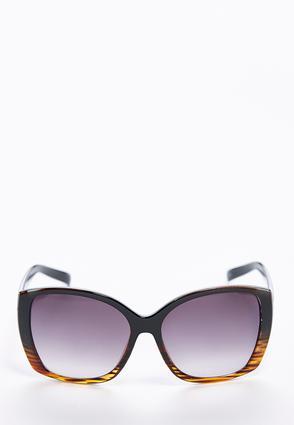 Ombre Frame Square Sunglasses | Tuggl