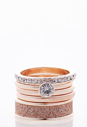 Rose Gold Mixed Ring Set at Cato in Brooklyn, NY | Tuggl