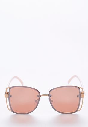 Cutout Frame Square Sunglasses | Tuggl