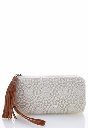 Crochet Wristlet Wallet | Tuggl