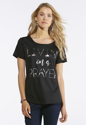 Livin On A Prayer Tee | Tuggl