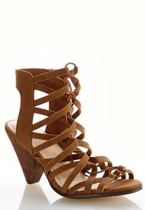 Wide Width Stretch Strap Cutout Shooties