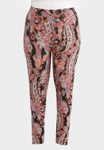 Plus Size Pepper Paisley Leggings