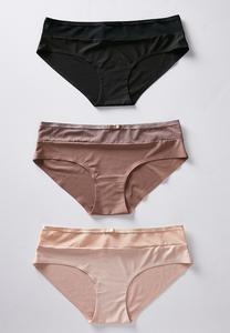 Neutral Seamless Panty Set