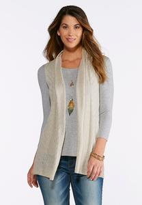 Lightweight Knit Vest