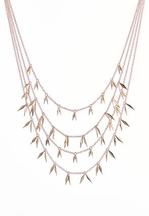 Shaky Spear Layered Necklace | Tuggl