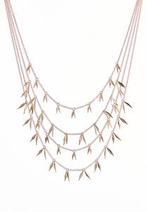 Shaky Spear Layered Necklace