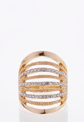 Multi Row Rhinestone Ring at Cato in Brooklyn, NY | Tuggl