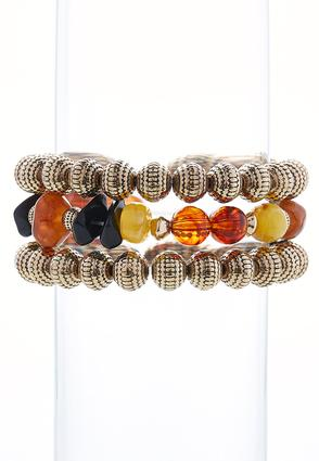 Stretch Mixed Bead Bracelet Set | Tuggl