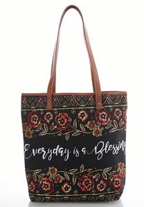 Graphic Novelty Tote