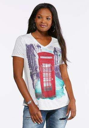 Plus Size Embellished London Tee