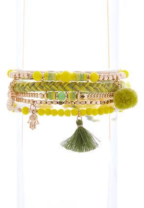 Citrus Boho Bracelet Set | Tuggl