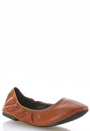 Textured Scrunch Flats | Tuggl