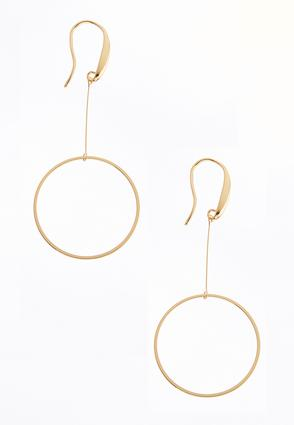 Dangle Circle Earrings | Tuggl