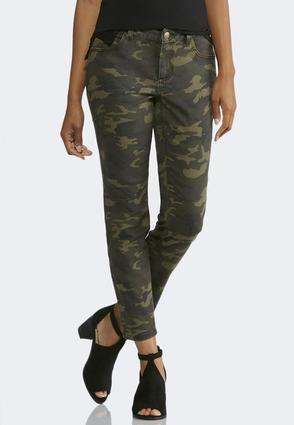 Camo Ankle Jeans   Tuggl