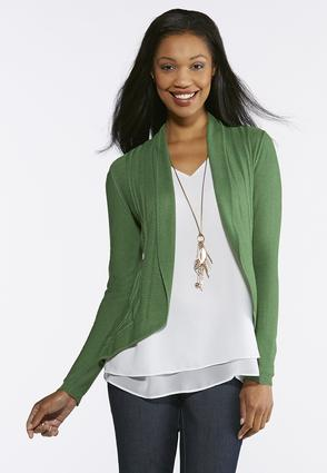 Plus Size Solid Curve Fitted Cardigan at Cato in Brooklyn, NY   Tuggl