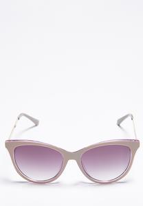 Purple Cateye Sunglasses