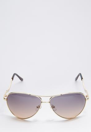Wavy Aviator Sunglasses | Tuggl
