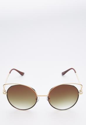 Wire Cateye Sunglasses | Tuggl