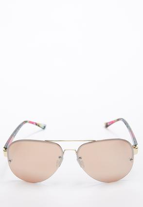 Floral Bloom Aviator Sunglasses | Tuggl