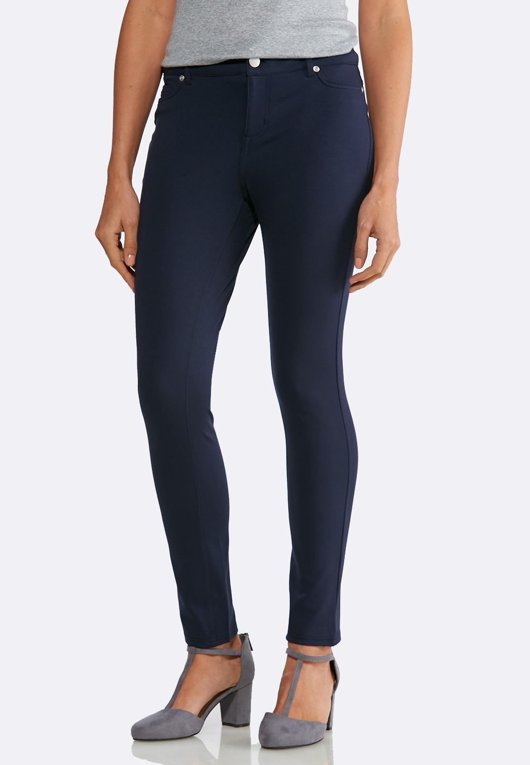 Essential Ponte Skinny Pants