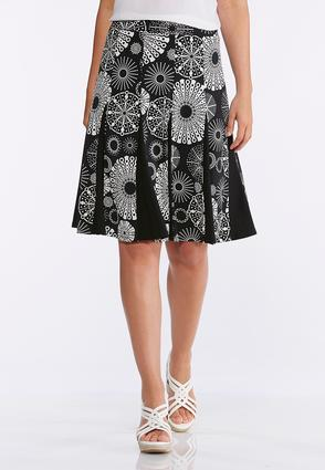 Pleated Festive Circle Skirt