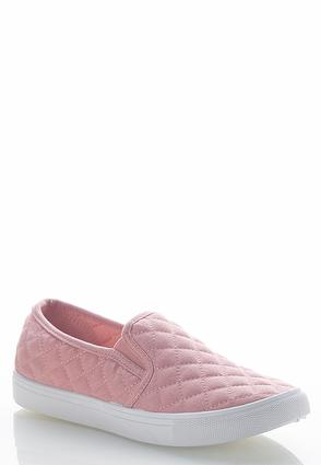Quilted Slip- On Sneakers