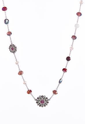 Beaded Starburst Necklace | Tuggl