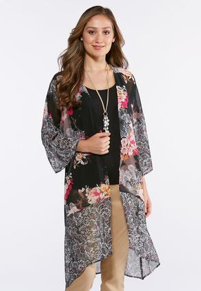Garden Floral Kimono | Tuggl
