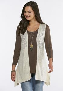 Shell Sweater Vest