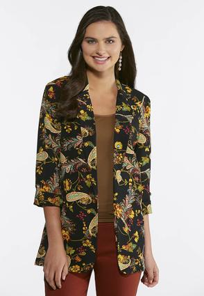 Golden Paisley Jacket | Tuggl