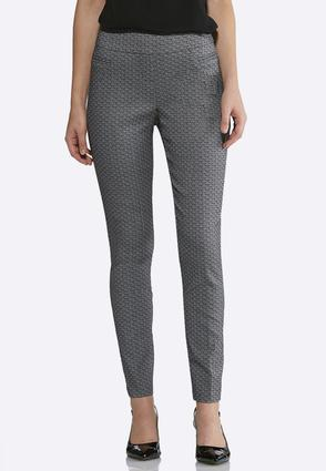 Jacquard Pull-On Pants | Tuggl