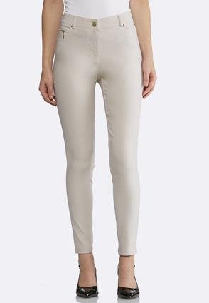 Skinny Stretch Ankle Pants