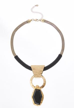 Thread Wrapped Pendant Necklace | Tuggl