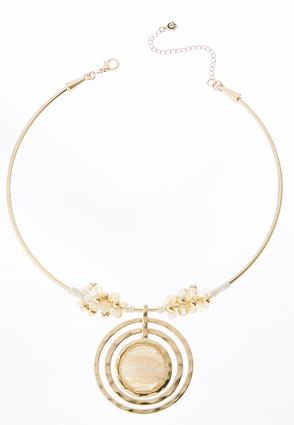 Iridescent Orbital Wire Necklace | Tuggl