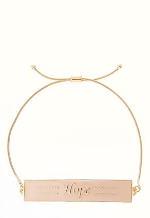 Hope Enamel Bracelet | Tuggl