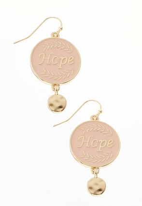 Hope Dangle Earrings | Tuggl