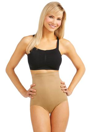 Nude High Waist Seamless Panties