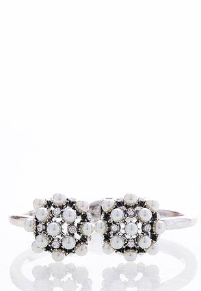 Clustered Pearl Cuff Bracelet | Tuggl
