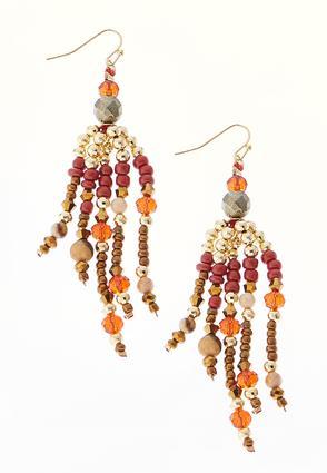 Autumn Tassel Earrings | Tuggl