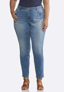 Plus Size Shape Enhancing Skinny Jeans