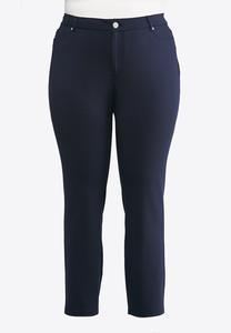 Plus Size Essential Ponte Skinny Pants