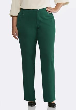 Plus Size Easygoing Shape Enhancing Pants | Tuggl